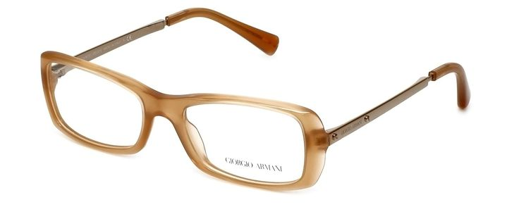 """GIORGIO ARMANI Eyeglasses AR 7011 5043 Opal Peach 51MM. 5"""" Frame Width 1.45"""" Lens Height. Authentic Giorgio Armani Designer Optical Eyewear ; Hand Crafted in Italy. Includes Original Giorgio Armani Carrying Case. Spring Hinged for Added Comfort. Demo Lens ; No Power. RX Ready."""