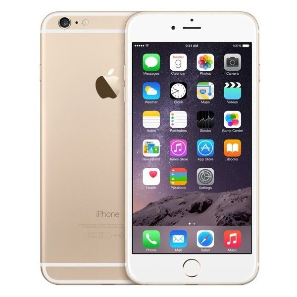 iPhone 6 Plus en color dorado ❤ liked on Polyvore featuring accessories, tech accessories, phones, phone cases, electronics, iphones and iphone smartphone