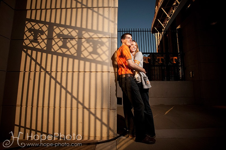 Neyland Stadium engagement photoshoot <3