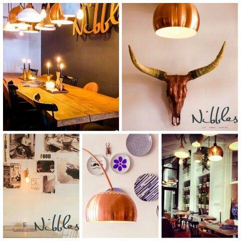 Interieur van restaurant Nibbles in Nijmegen... #loveit