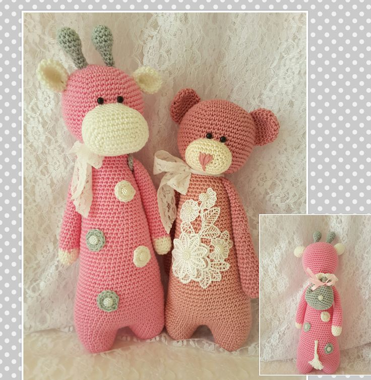 patroon van little bears crochet