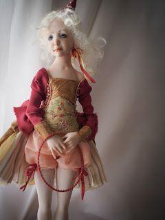 """Summer''. Handmade Ooak Doll."