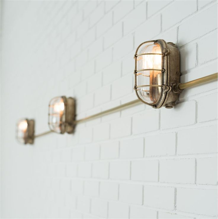 Now you can hide those ugly #external wires with our #handmade #brass Conduit Kit. l