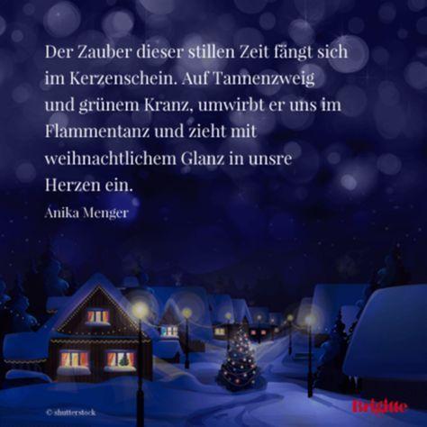 Advent: Besinnliche und schöne Zitate zu Weihnachten Mehr