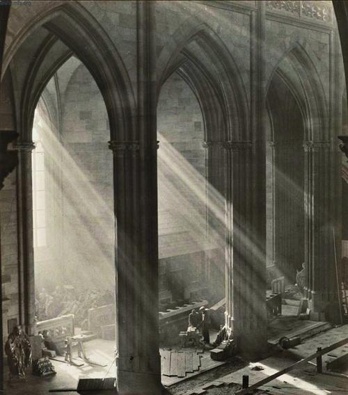 Josef Sudek     St. Vitus Cathedral, Prague     c.1924