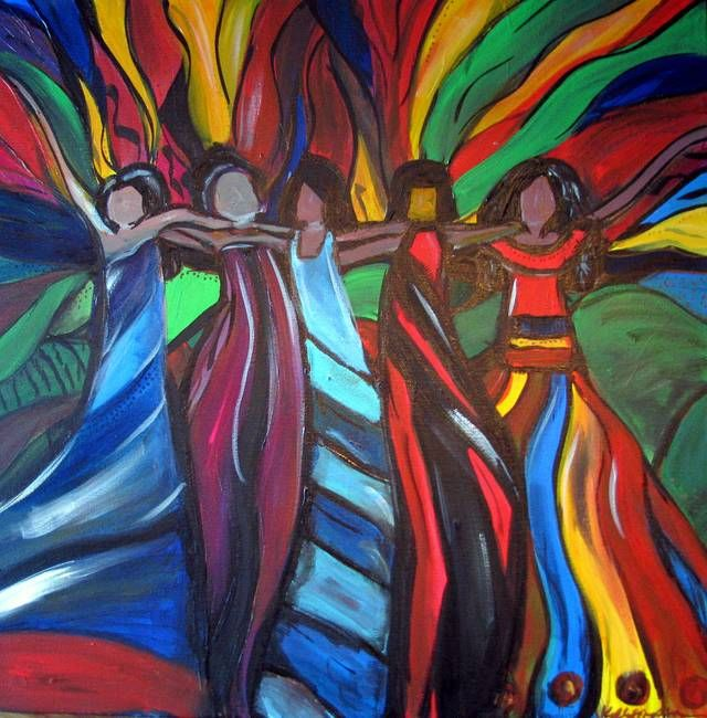 The Beauty Of Diversity By Kelly Simpson Art Art Terms Culture Art