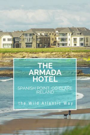 The Armada sits perched on the edge of the Wild Atlantic Way in County Clare Ireland. Incredible views greet you from every angle and this is an absolutely perfect location to see sites along the Irish coast from the Burren to the Cliffs of Moher. It is an outstanding hotel and the best location.
