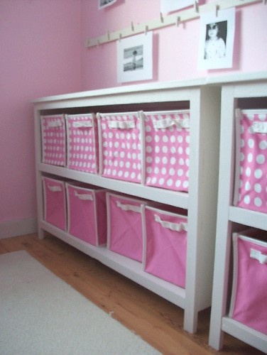 TOY ORGANIZATION --- An idea for my daughter's room!!