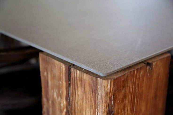 Table top using Textil Black #Neolith