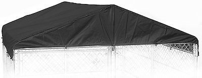 Dog Kennel Cover - WeatherGuard Extra Large All Season Dog Run Cover & Roof - X