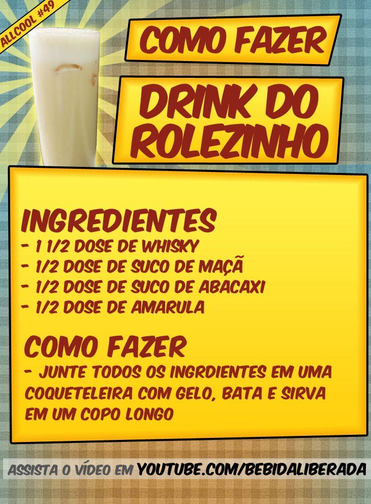 Receita do AllCool - Como fazer o Drink do Rolezinho | Bebida Liberada
