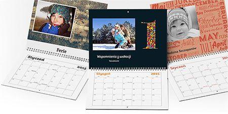 Fotokalendarz, kalendarz 2015   Vistaprint