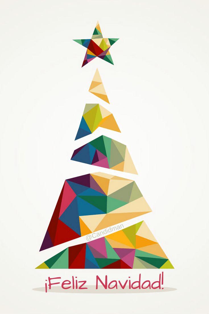 ¡Feliz Navidad! @candidman #Frases #Navidad #FelizNavidad #Pino #Candidman