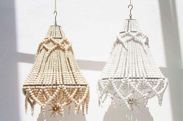 Wood Beaded Light Fixture: Best 25+ Beaded Chandelier Ideas On Pinterest