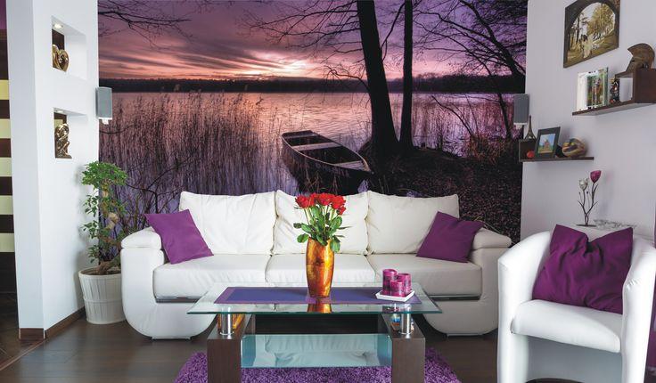 Sommige kleuren versterken het hele gevoel van een kamer is er iets voor elke plaats. www.mural24.nl