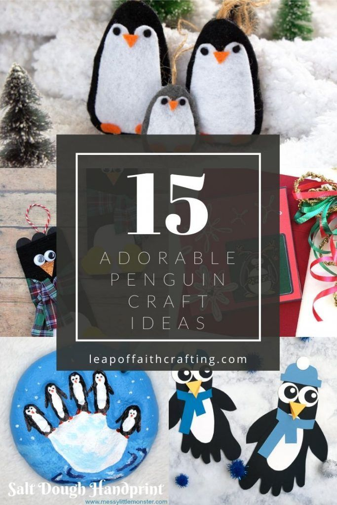 Penguin Crafts A Roundup Of Easy And Cute Penguin Craft Ideas