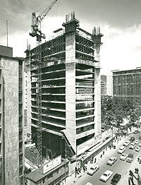 Construcción Edificio de Avianca