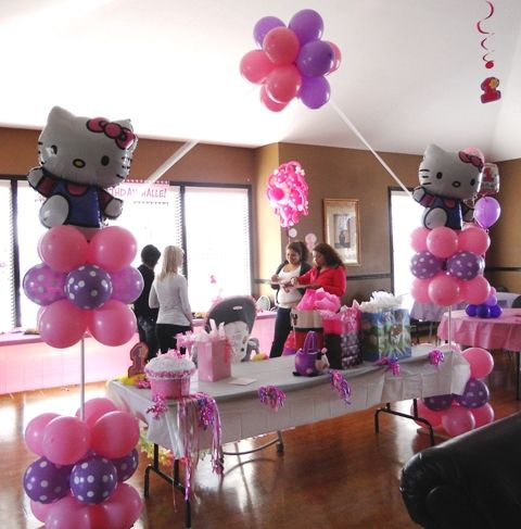 Hello Kitty Balloon Arch| Lewisville | Plano| Frisco| Flower Mound|Castle Hills| carrollton