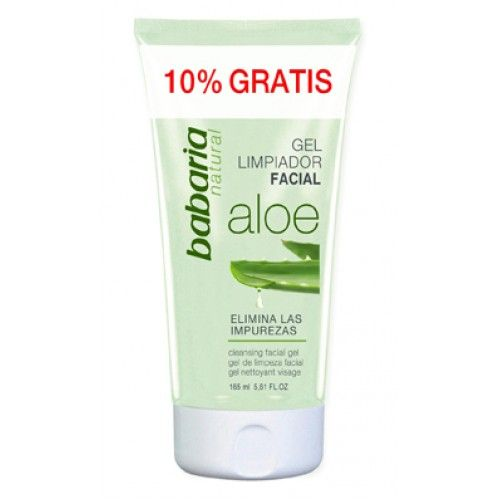 BABARIA Gel Limpeza Facial Aloe Vera 150ml