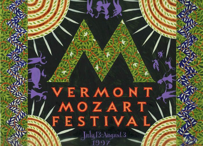 Jeffrey Fisher – Poster for Vermont Mozart Festival