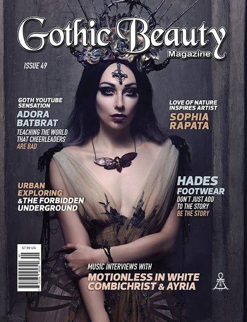 Tragic Books: Gothic Beauty Magazine: Lifestyle, Arts and other ...