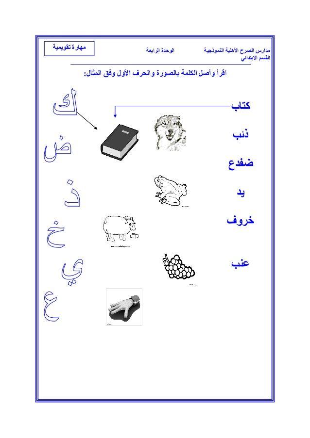 ملزمة لغتي للصف الأول الأبتدائي الفصل الثاني Learning Arabic Arabic Language Islamic Studies