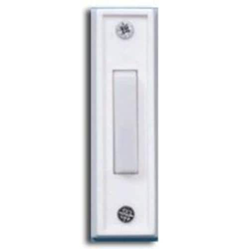 Carlon DH1408 Housing Door Bell Pushbuttons, White
