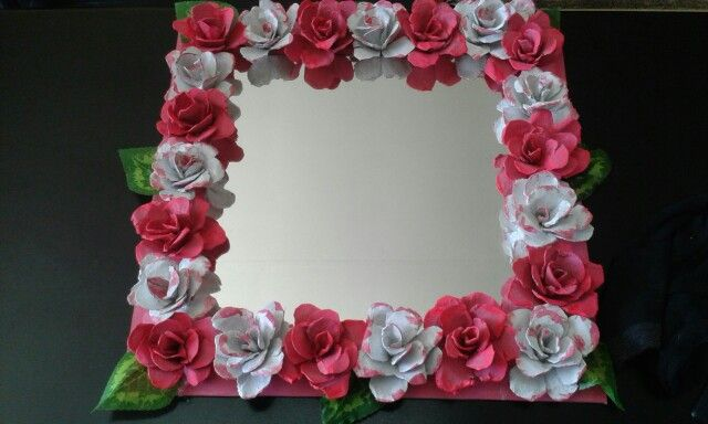 Mirror made out of recycle material