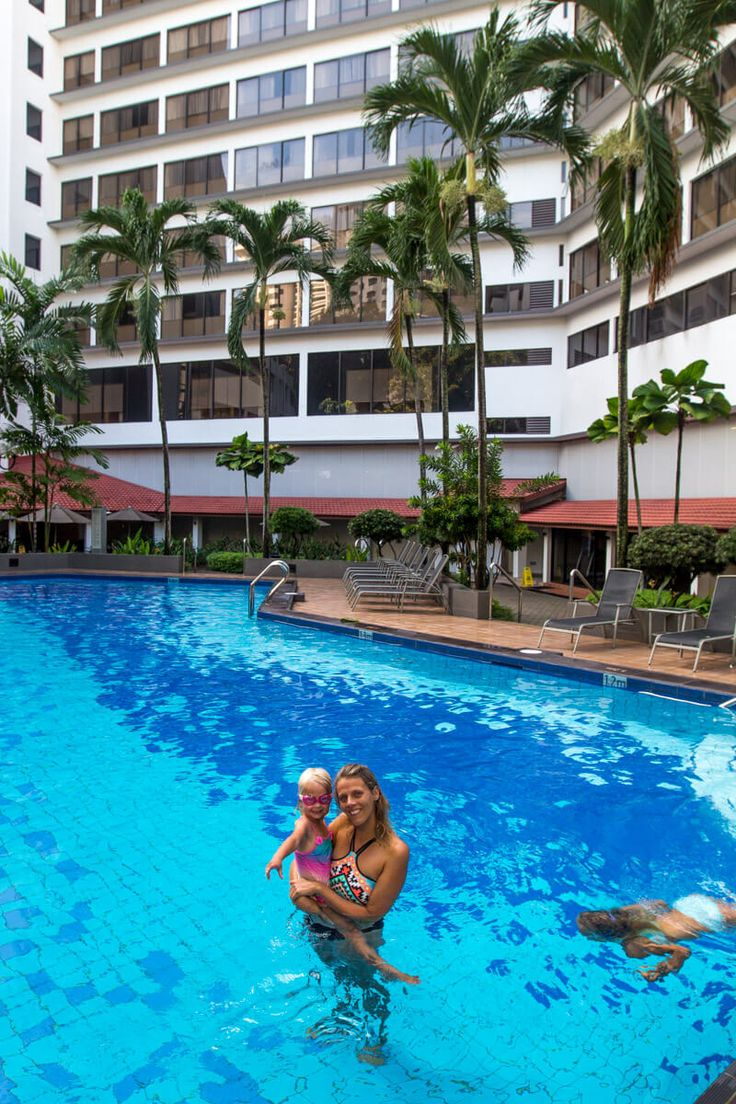 York Hotel - great place to stay in Singapore with kids