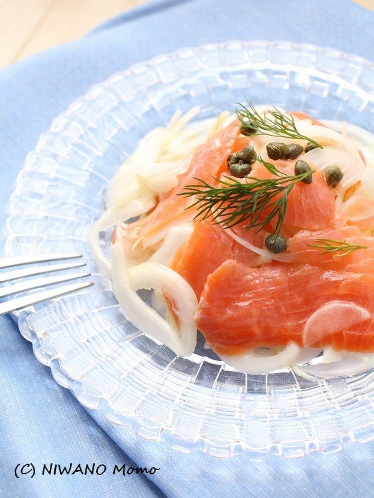 たっぷり新玉ねぎのサーモンマリネ by 庭乃桃   レシピサイト「Nadia   ナディア」プロの料理を無料で検索