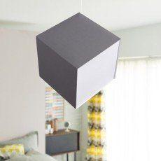 Suspension, e27 design Cub coton gris 1 x 100 W COREP