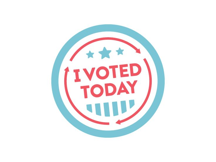 I Voted Today by Justin Kemerling   bottom lines and stars