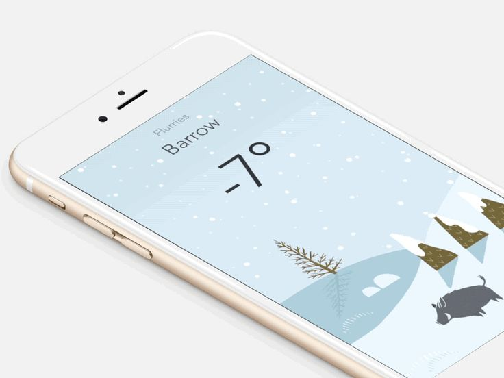 It's snowing in Barrow.  Almost ready now for the release of our new weather app Wild Weather! Just a few more days! *excited*