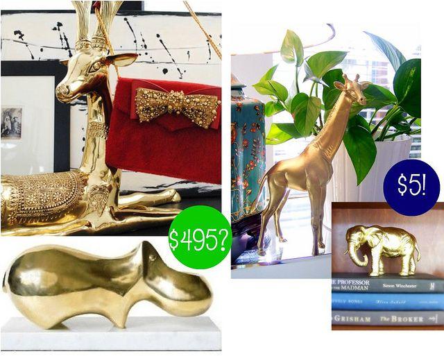 DIY metallic animals!