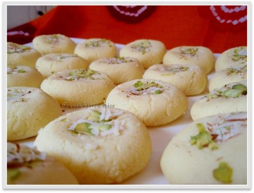 Microwave peda recipe