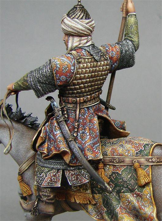 Стойкий солдатик: оловянная фигурка арабского Всадника — VilingStore