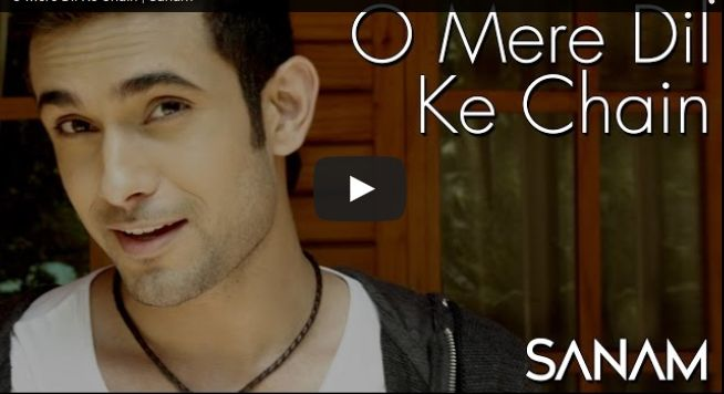 ***** O Mere Dil Ke Chain - Sanam *****  Listen O Mere Dil Ke Chain in the voice of Sanam. Vocals by Sanam Puri, Guitars by Samar Puri, Bass by Venky S & Drums by Keshav Dhanraj. Lyrics by Majrooh Sultanpuri. Punjabimeo.com