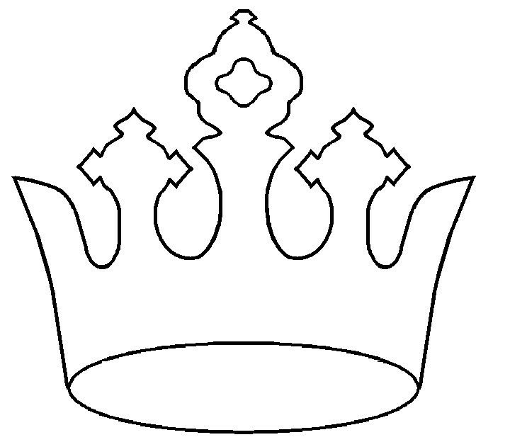 48 best Christian symbol blacklines images on Pinterest Coloring - crown template