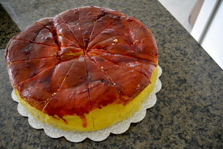 Strawberry Japanese Cheesecake #bellesbybella #cheesecake