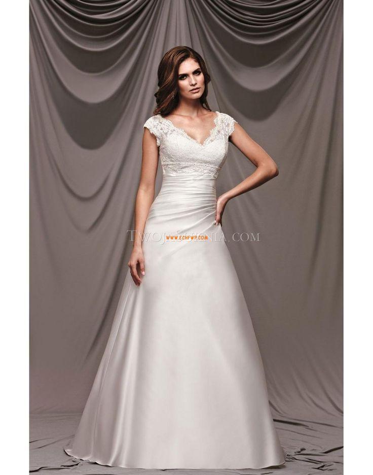 Taft Klasické & nadčasové Krátké rukávy Svatební šaty Kromeriz
