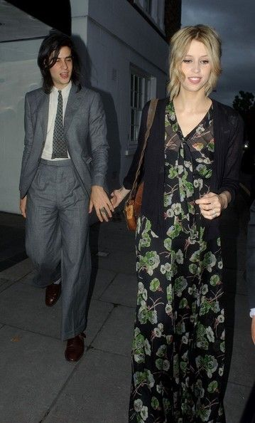 Peaches Geldof - the best I have seen her in a while - love her floral floaty maxi