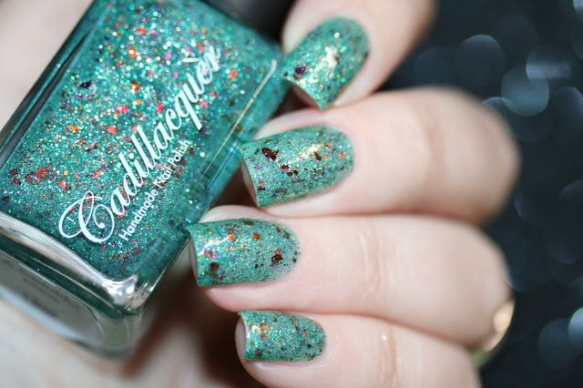 Cadillacquer : Cadillacquer A Beautiful Mess Shop here- www.color4nails.com Worldwide shipping available