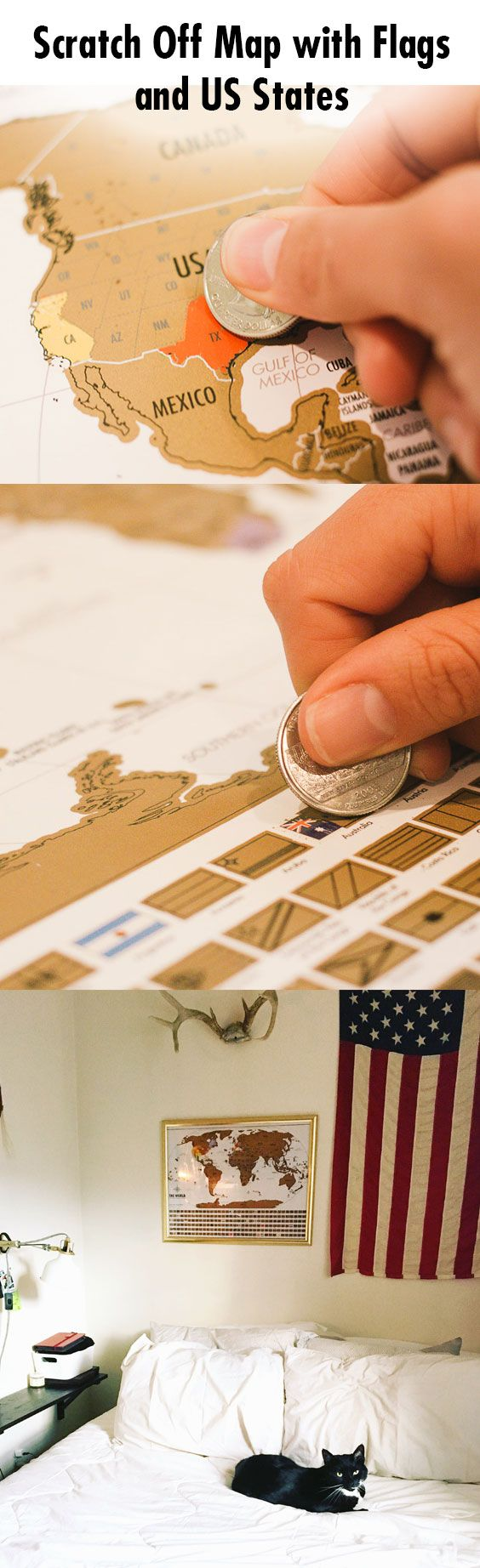 Best Wanderlust Images On Pinterest Travel Travel Hacks - Scratch off us state maps with pencil 25 pack