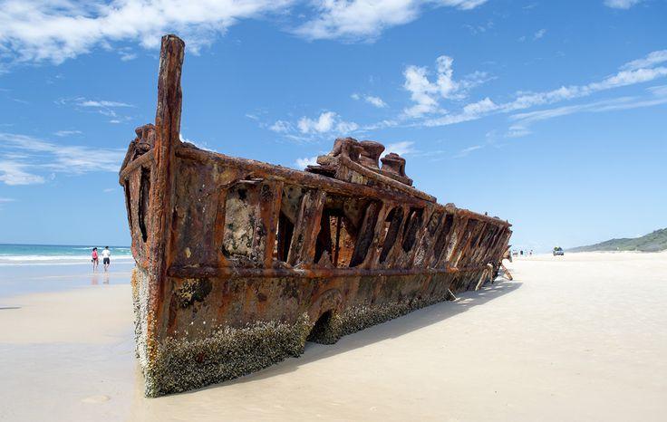 Shipwreck on the beach coolwebs.com.au