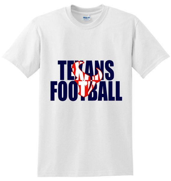 Houston Texans Football Shirt Houston Texans by CraftoholicDiaries