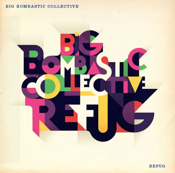 Big Bombastic Collective by Mads Berg, via Behance