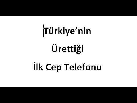 Türkiye'nin Ürettiği İlk Yerli Malı Cep Telefonu Aselsan 1919 ve 1920