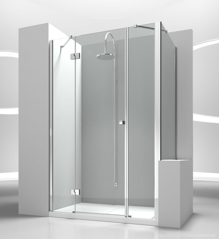sm+sp : sintesi shower enclosures models - pivot door | by @vismaravetro
