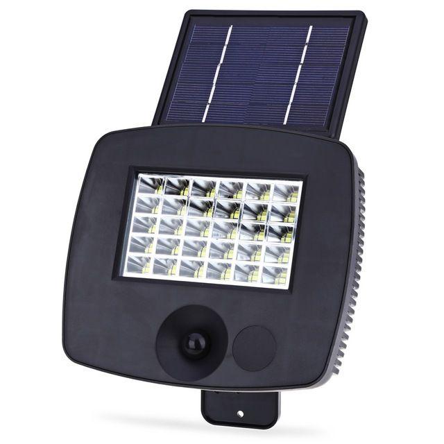 Venta caliente 1pac 200LM 30 LEDs 6 W Solar Powered Pared lámpara led pir motion sensor de luz de la lámpara al aire libre jardín decoración iluminación