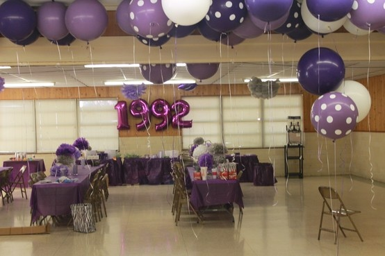 18 best images about class reunion ideas on pinterest for Balloon decoration classes